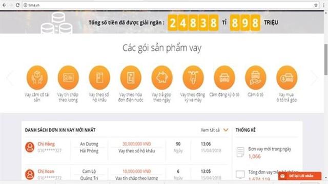 Bẫy lãi suất cắt cổ với dịch vụ vay tiền online - Ảnh 3.