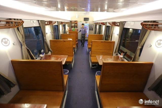 Cận cảnh toa tàu thế hệ 3 chất lượng cao vừa được ngành đường sắt đưa vào hoạt động - Ảnh 7.