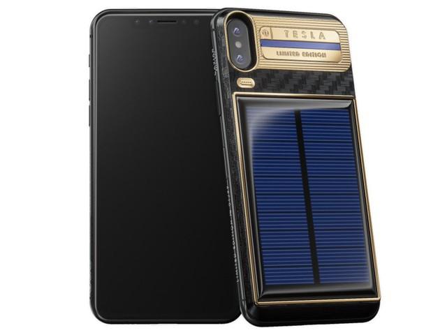 iPhone X phiên bản Tesla sử dụng pin mặt trời có giá tới 4.000 USD và Elon Musk sẽ là người đầu tiên sở hữu - Ảnh 10.