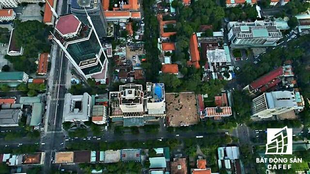 20 khu đất vàng tại trung tâm TP.HCM nhìn từ trên cao, nhiều dự án vẫn đang án binh bất động - Ảnh 23.