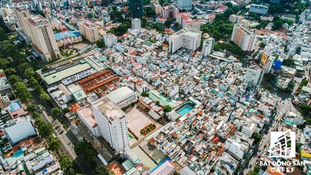 20 khu đất vàng tại trung tâm TP.HCM nhìn từ trên cao, nhiều dự án vẫn đang án binh bất động - Ảnh 9.