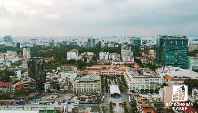 20 khu đất vàng tại trung tâm TP.HCM nhìn từ trên cao, nhiều dự án vẫn đang án binh bất động - Ảnh 2.