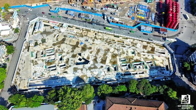 20 khu đất vàng tại trung tâm TP.HCM nhìn từ trên cao, nhiều dự án vẫn đang án binh bất động - Ảnh 5.
