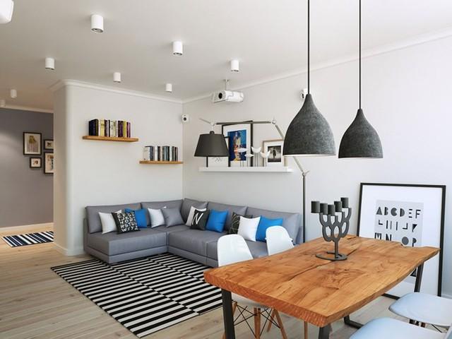 Thiết kế căn hộ chung cư sáng tạo theo phong một vàih Scandinavian - Ảnh 3.