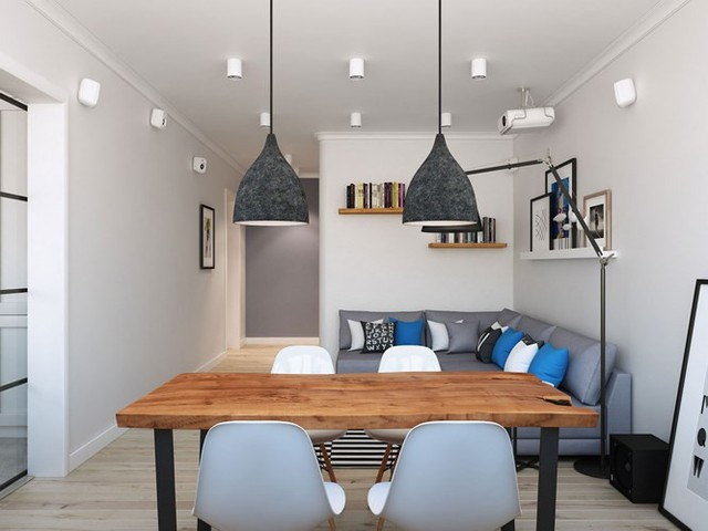 Thiết kế căn hộ chung cư sáng tạo theo phong một vàih Scandinavian - Ảnh 4.
