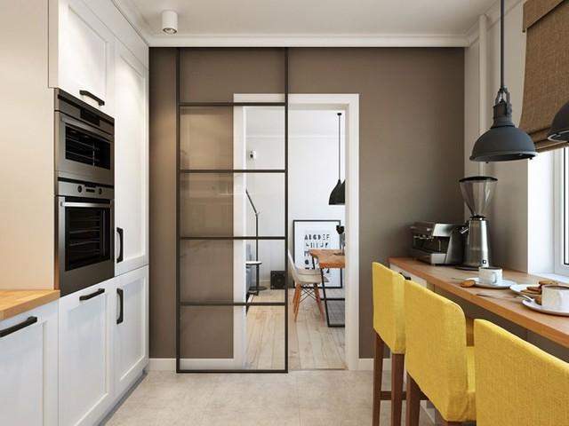 Thiết kế căn hộ chung cư sáng tạo theo phong một vàih Scandinavian - Ảnh 5.