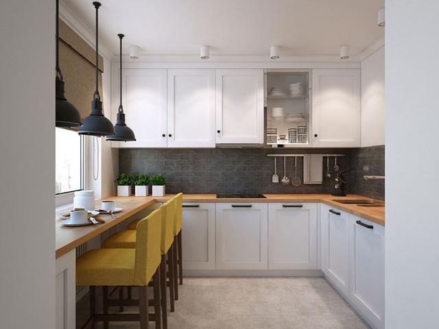 Thiết kế căn hộ chung cư sáng tạo theo phong một vàih Scandinavian - Ảnh 6.