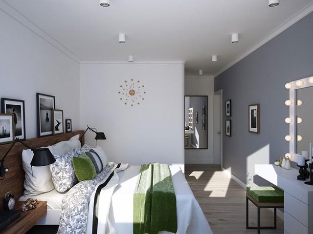 Thiết kế căn hộ chung cư sáng tạo theo phong một vàih Scandinavian - Ảnh 8.
