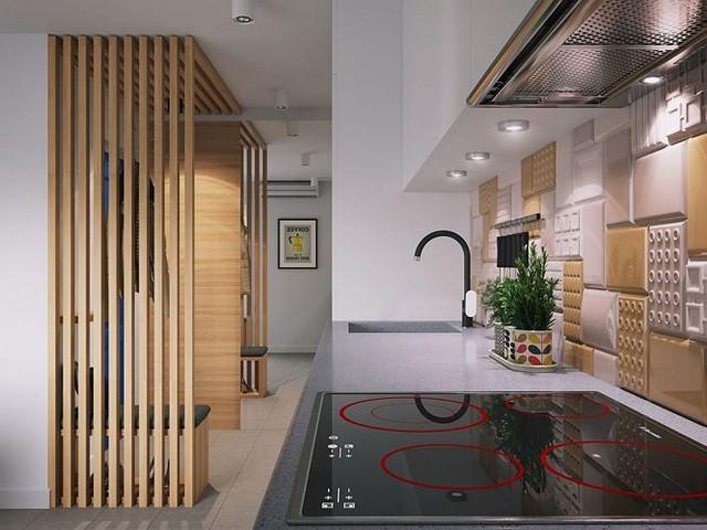 Căn hộ 34 m2 kết hợp phòng khách và phòng ngủ tiện lợi - Ảnh 6.