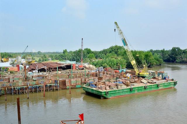 Cận cảnh dự án chống ngập 10.000 tỷ đồng ở Sài Gòn dừng thi công - Ảnh 3.