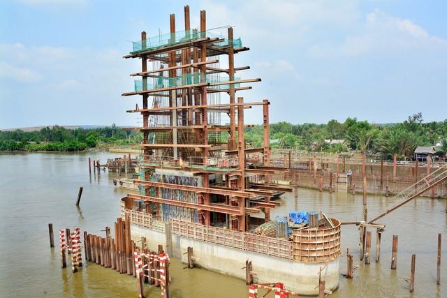 Cận cảnh dự án chống ngập 10.000 tỷ đồng ở Sài Gòn dừng thi công - Ảnh 4.