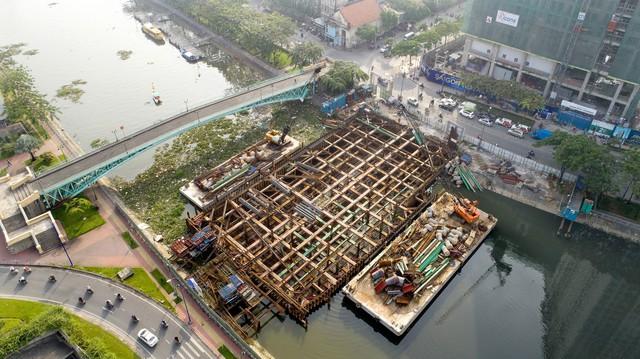 Cận cảnh dự án chống ngập 10.000 tỷ đồng ở Sài Gòn dừng thi công - Ảnh 5.