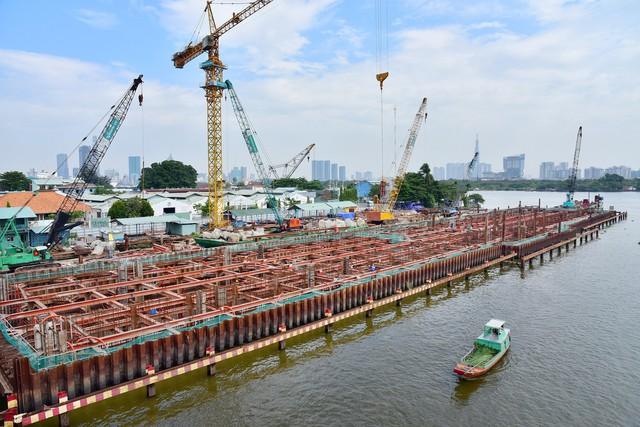 Cận cảnh dự án chống ngập 10.000 tỷ đồng ở Sài Gòn dừng thi công - Ảnh 7.