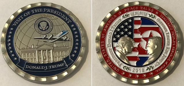 Website cửa hàng của Nhà Trắng sập vì nhu cầu mua xu kỷ niệm Trump – Kim - Ảnh 1.