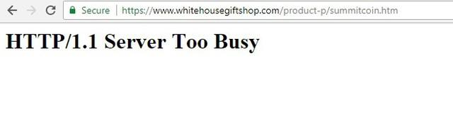 Website cửa hàng của Nhà Trắng sập vì nhu cầu mua xu kỷ niệm Trump – Kim - Ảnh 2.