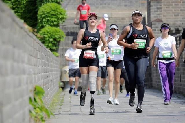 Ảnh ấn tượng về cuộc marathon đặc biệt trên Vạn Lý Trường Thành - Ảnh 19.