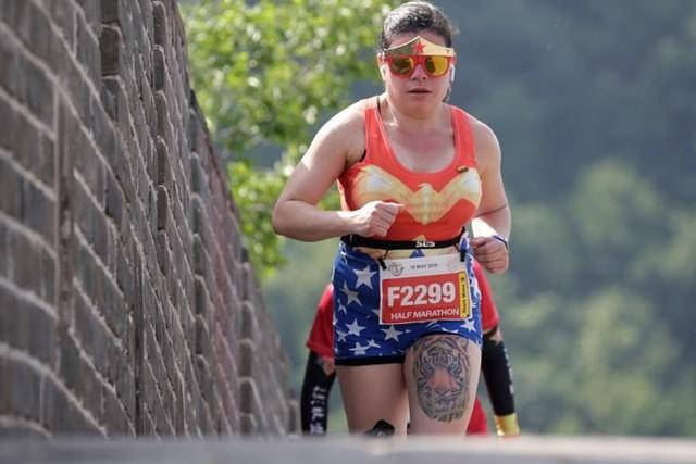 Ảnh ấn tượng về cuộc marathon đặc biệt trên Vạn Lý Trường Thành - Ảnh 4.