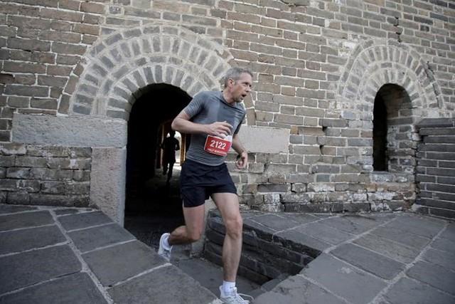 Ảnh ấn tượng về cuộc marathon đặc biệt trên Vạn Lý Trường Thành - Ảnh 7.