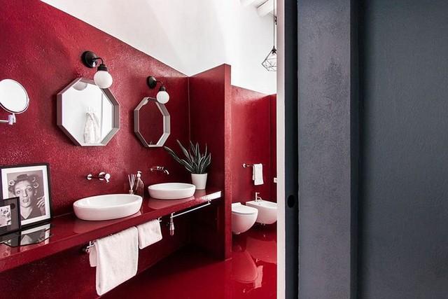 Ngôi nhà trang trí màu sắc tuyệt đẹp theo phong cách Ý - Ảnh 9.