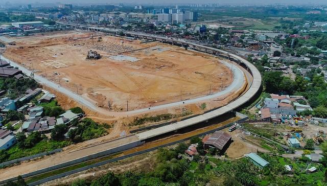 Toàn cảnh đại công trường hạ tầng giao thông diện tích lớn trải dài khắp khu Đông TP.HCM - Ảnh 2.