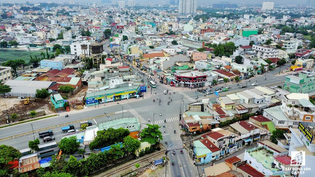 Toàn cảnh đại công trường hạ tầng giao thông diện tích lớn trải dài khắp khu Đông TP.HCM - Ảnh 4.