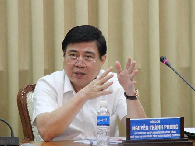 Chủ tịch UBND TP.HCM yêu cầu rà soát các dự án chậm tiến độ - Ảnh 1.
