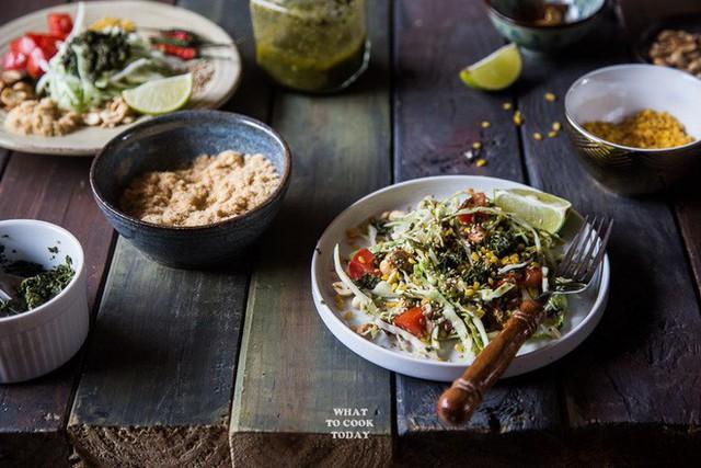 Lạ kỳ món salad lá trà độc đáo chỉ có tại xứ sở Phật giáo Myanmar - Ảnh 3.