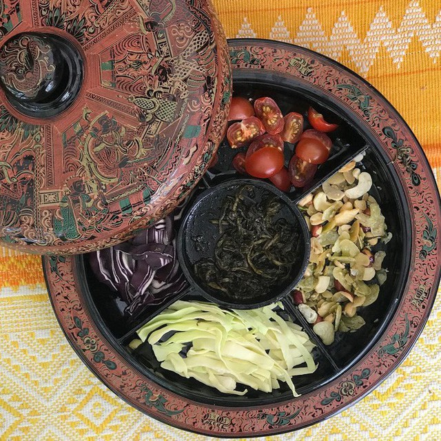 Lạ kỳ món salad lá trà độc đáo chỉ có tại xứ sở Phật giáo Myanmar - Ảnh 8.
