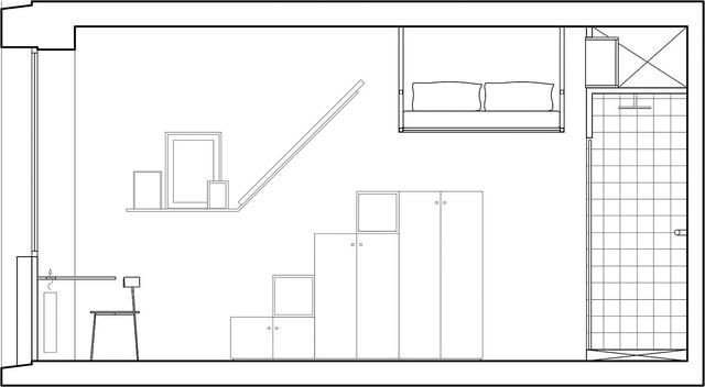 Nhà 18m2 gây sốt với thiết kế quá thông thoáng và tiện nghi - Ảnh 10.