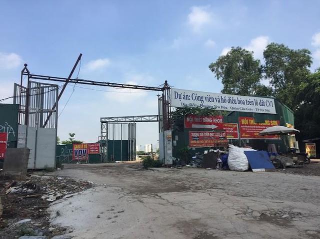 Khu đất vàng Hà Nội chuẩn bị xây nhà hát Hoa Sen giờ ra sao? - Ảnh 1.
