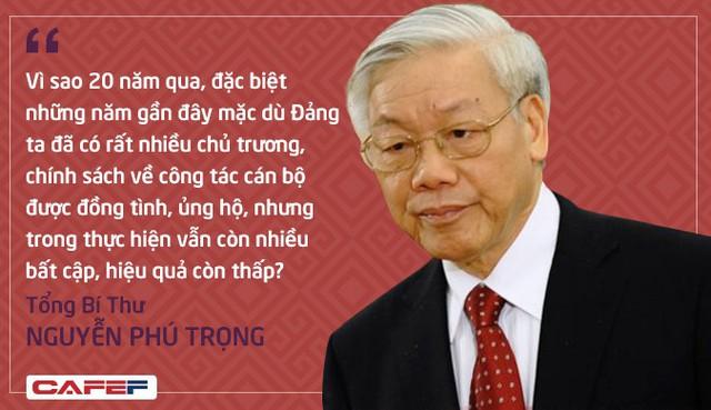 Những câu hỏi khó về công tác nhân sự của Tổng Bí thư tại phiên khai mạc Hội nghị Trung ương 7 - Ảnh 1.