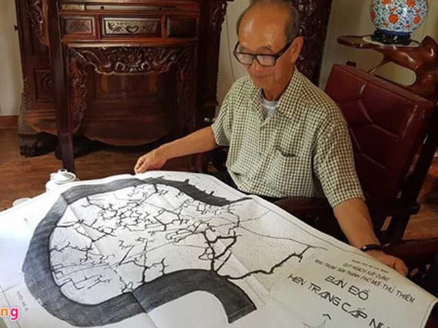 'Không mất bản đồ gốc quy hoạch khu thành phố Thủ Thiêm' - Ảnh 1.