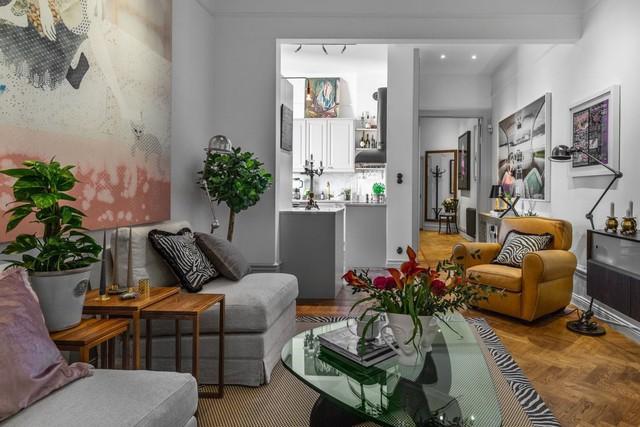 Ngỡ ngàng ngắm căn hộ 69m2 đẹp tựa tranh vẽ - Ảnh 1.