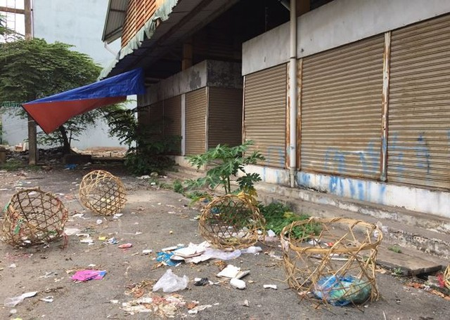 Chợ tiền tỷ bỏ hoang 14 năm ở Sài Gòn - Ảnh 3.