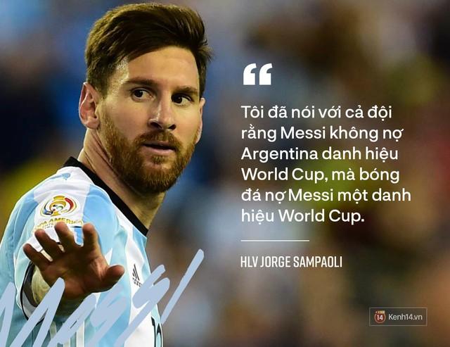 Bóng đá vẫn còn nợ Messi chiếc Cúp vàng thế giới - Ảnh 5.