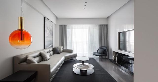 Căn hộ màu trắng kiến trúc dễ làm và tinh tế - Ảnh 1.
