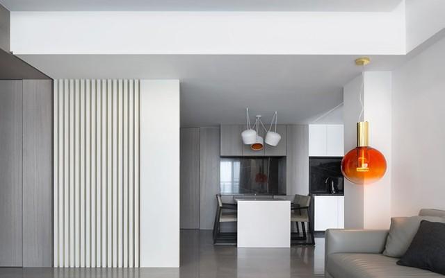 Căn hộ màu trắng kiến trúc dễ làm và tinh tế - Ảnh 4.