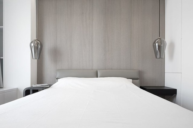 Căn hộ màu trắng kiến trúc dễ làm và tinh tế - Ảnh 8.