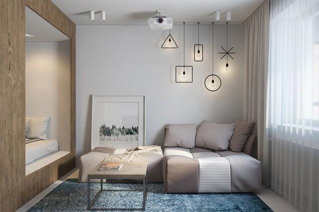Căn hộ 30 m2 sử dụng nội thất sáng tạo - Ảnh 1.
