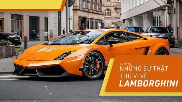 [Photo Story] 10 điểm thú vị ai cũng cần biết về Lamborghini - Ảnh 1.