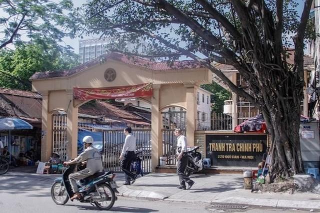 Bên trong khu đất trụ sở cũ của Thanh tra Chính phủ sắp thành cao ốc - Ảnh 1.