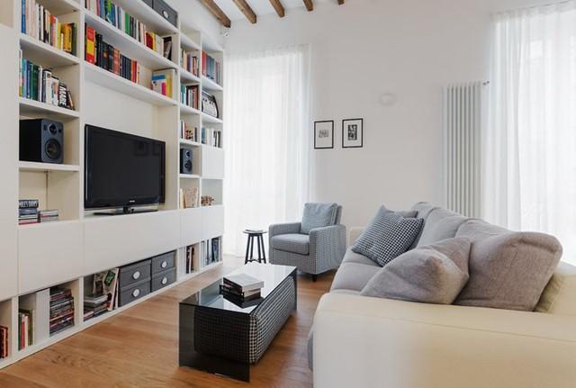 Thiết kế căn hộ theo phong cách hiện đại - Ảnh 1.
