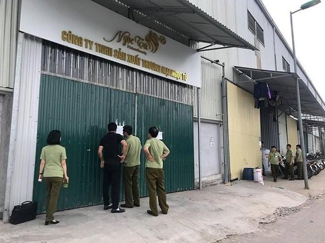 (NÓNG) Phát hiện hàng ngàn sản phẩm đông y làm đẹp dởm ở Hà Nội  - Ảnh 1.