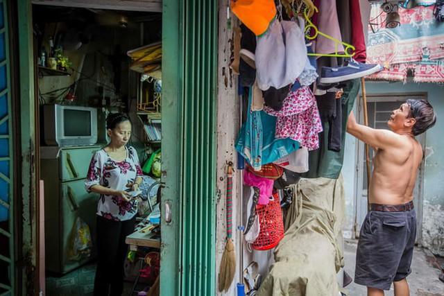 Cuộc sống trong những căn nhà siêu nhỏ ở trung tâm Sài Gòn - Ảnh 13.