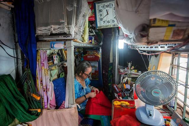 Cuộc sống trong những căn nhà siêu nhỏ ở trung tâm Sài Gòn - Ảnh 8.