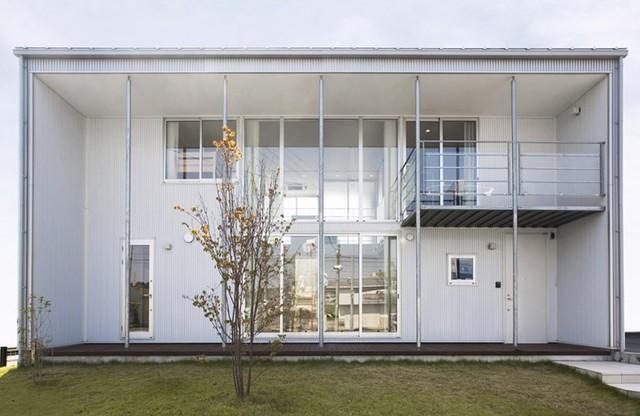 Ngôi nhà mang phong cách tối giản, tân tiến - Ảnh 1.