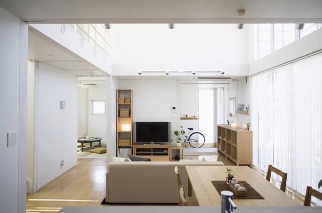 Ngôi nhà mang phong cách tối giản, tân tiến - Ảnh 2.