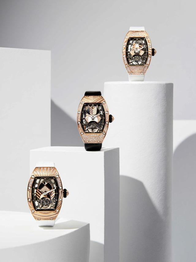 Mẫu đồng hồ tourbillion mới của Richard Mille: Có giá hàng trăm nghìn đô, sản xuất giới hạn và dành riêng cho phái đẹp!  - Ảnh 3.