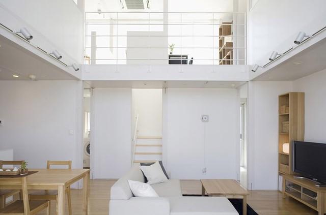 Ngôi nhà mang phong cách tối giản, tân tiến - Ảnh 4.
