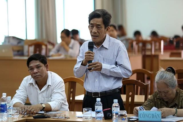 Toàn cảnh lãnh đạo Ban tiếp dân TW và TP.HCM gặp dân Thủ Thiêm - Ảnh 6.